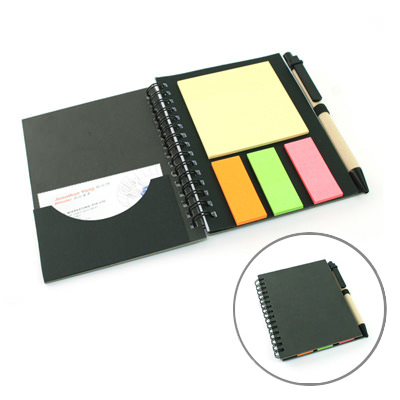 AMEF-1002 Eco-Friendly Notebook with Pen