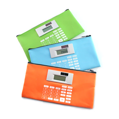 AMSM-1501 Stationery Pouch with Calculator